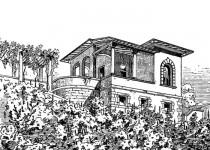 Эскизы домов besedka balkon