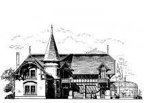 Эскизы домов