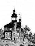 Эскизы домов s bashney gotika