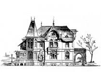 Эскизы домов dva etazha
