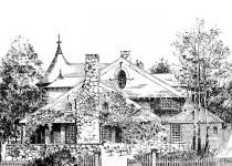 Эскизы домов naturalniy kamen