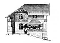 Эскизы домов kamen