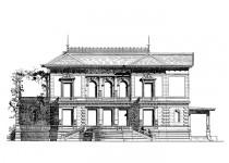Эскизы домов dvorets dva urovnya