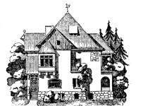 Эскизы домов iskusstv ksmen