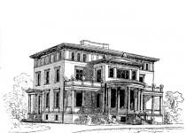 Эскизы домов zamok kolonny