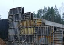 Бетонные монолитные стены